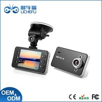 Touch Screen HD 2.7 inch Car Dvr Night Vision with Loop Recording and Motion Detection Function