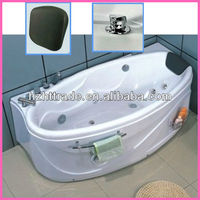 oval corner hot tub whirlpool white sex abs massage bathtub