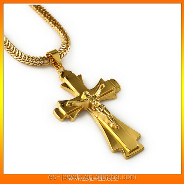 2016 jewelry hip hop 18k gold plated cross pendant buy