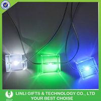 2016 Flashing LED Christmas Light Necklace