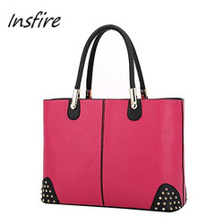 2016 Trending fashionable women tote bag from China supplier