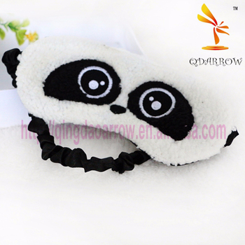 Plush funny panda animal eye mask sleep eye mask