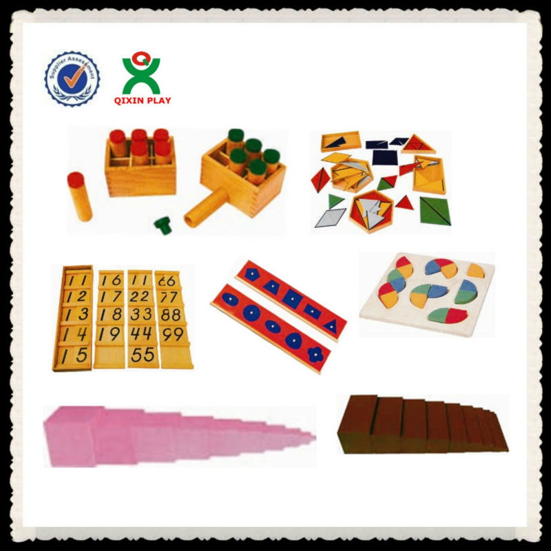 Kindergarten furniture Montessori,Montessori wooden toys,Montessori material in china/Montessori educational toys 88pcs