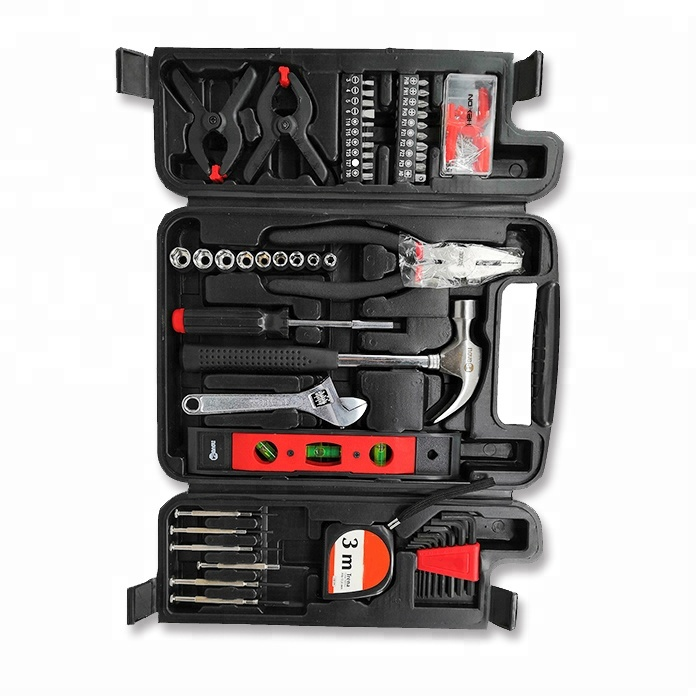 Professional 131 pieces combination household hand tools <strong>kit</strong>