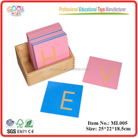 Arabic\ Educational Toys Montessori Wooden Letters