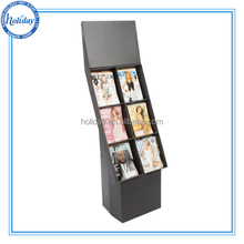 China Design Book Cardboard Display Shelves,Shelf Paper Display Book,3 Tiers Display Shelf For Book