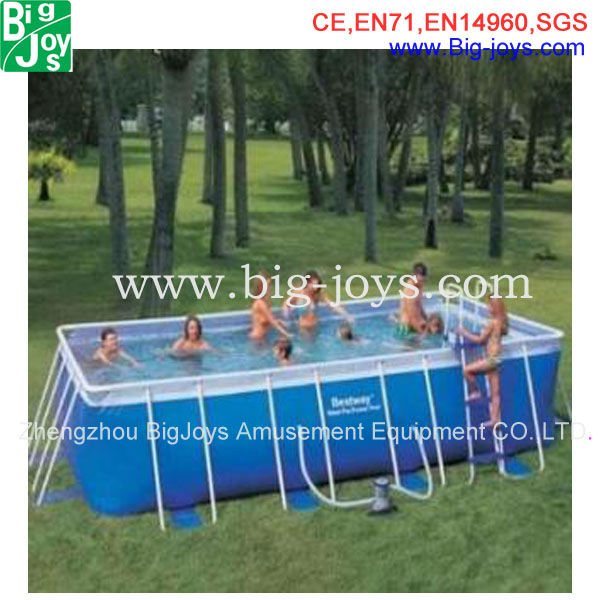 metal frame swimming pool big outdoor above ground metal frame pools