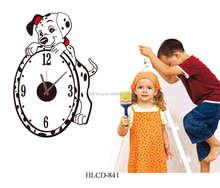 Kids Room Dog Wall Clock Different Shape