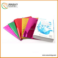 2016 Popular Waterproof Plastic PVC Book Cover