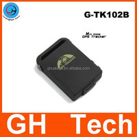 Lowest Mini gps tracker for kids only 50g G-TK102 built-in 1000mAh battery for kids children senior people