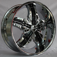 22*95j et=30 pcd=6*135/139.7 chrome alloy wheel rims fit all car