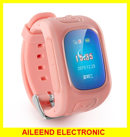 Voice Monitor Waterproof 2 Ways communication SOS Smart GPS LBS Watch Tracker For Children kids