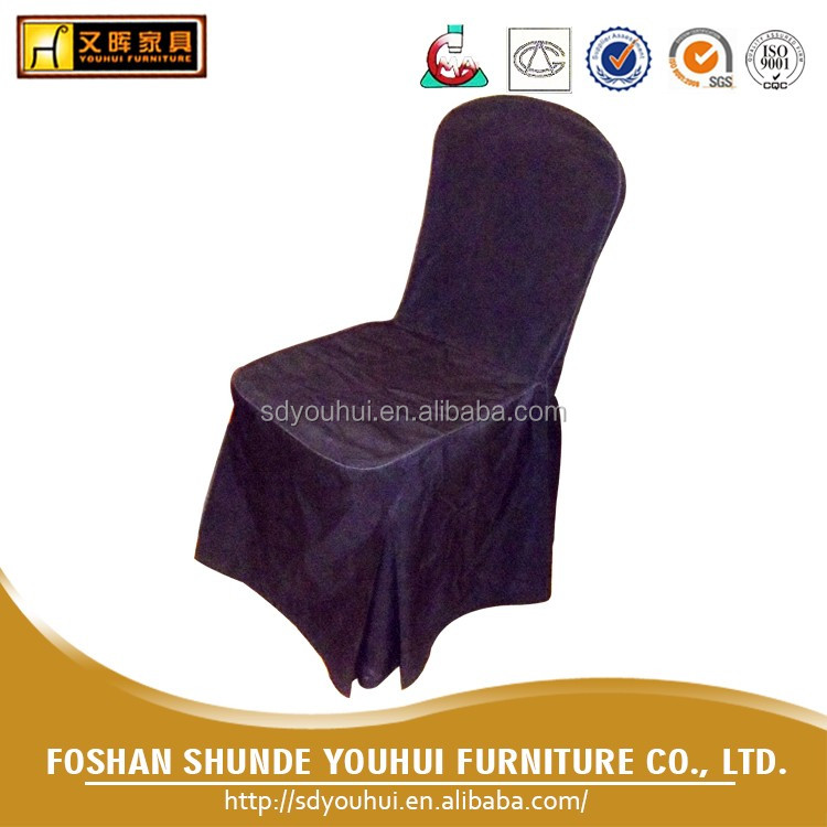 Wholesale Luxurious exquisite 100% Cotton / polyester Chair cover / wedding chair cover