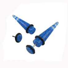 wholesale fake ear stretchers ear taper, custom fake ear gauge tapers, cheap acrylic taper candles