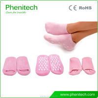 Spa Moisturizing Silicon Foot Gel Socks F03