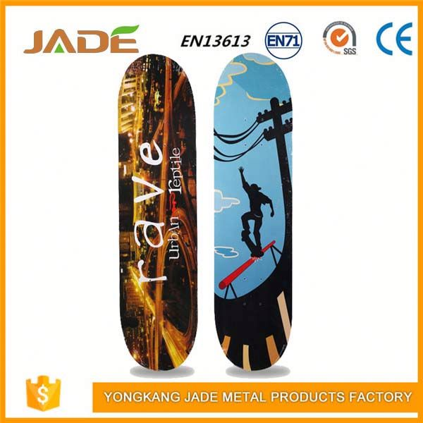 Slide longboard maple blank bamboo skateboard decks
