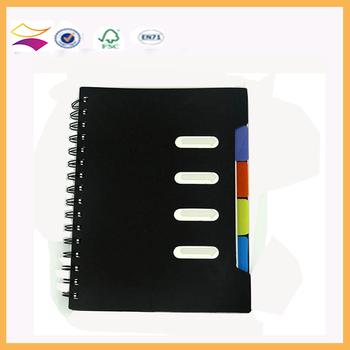 Free Sample Customized Paper Notebook/school Notebook/Spiral Notebook