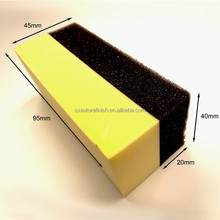 S.A.R Professional Tyre Tire Dressing Applicator Curved Foam Sponge Pads