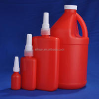 2000ml china wholesale empty HDPE plastic chemical Anaerobic adhesive bottle