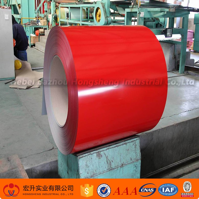 shpping website PPGI PPGL prepainted galvanized color coated steel coil roofing sheet weight