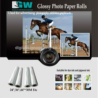 Matte photo quality inkjet paper 180gsm /glossy photo paper /RC PHOTO PAPER