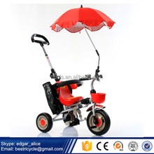 2017 New Model Kids Tricycle suitable for 6-24 months' Children Tricycle