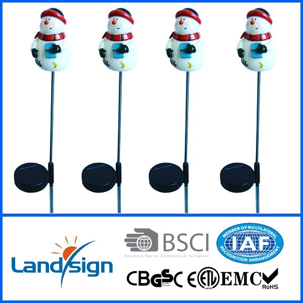 roll up christmas lights solar led christmas stake light CIXI LANDSIGN XLTD-722M