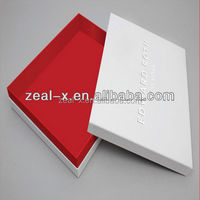 Fancy sweet nice design grey packaging paper gift boxes