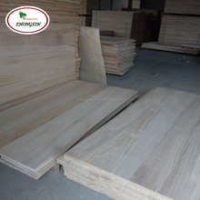 Cheap price hot selling paulownia texture timber triangle solid wood battens