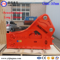 hydraulic breaker jack hammer for excavator in 40tons