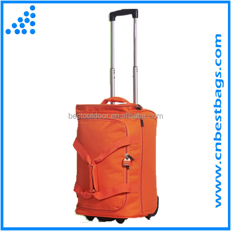 low price luggage travel bags wheeled duffle bag
