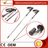 2015 new design Ultra-light carbon folding nordic walking sticks
