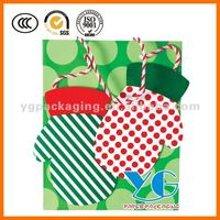 Large Christmas Gift Tote Gift Paper Bag handmade craft bag