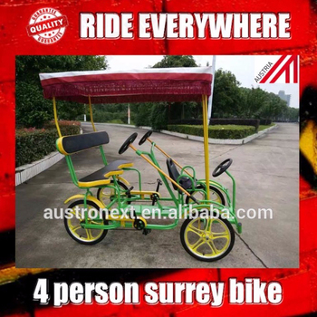 surrey bike for two person , two person bike , 3 speed two person surrey bike
