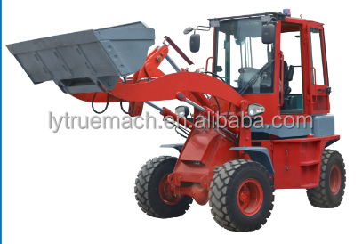 HR912 1.2Ton Mini Zero Tail Wheel Loader With Euro3 Engine