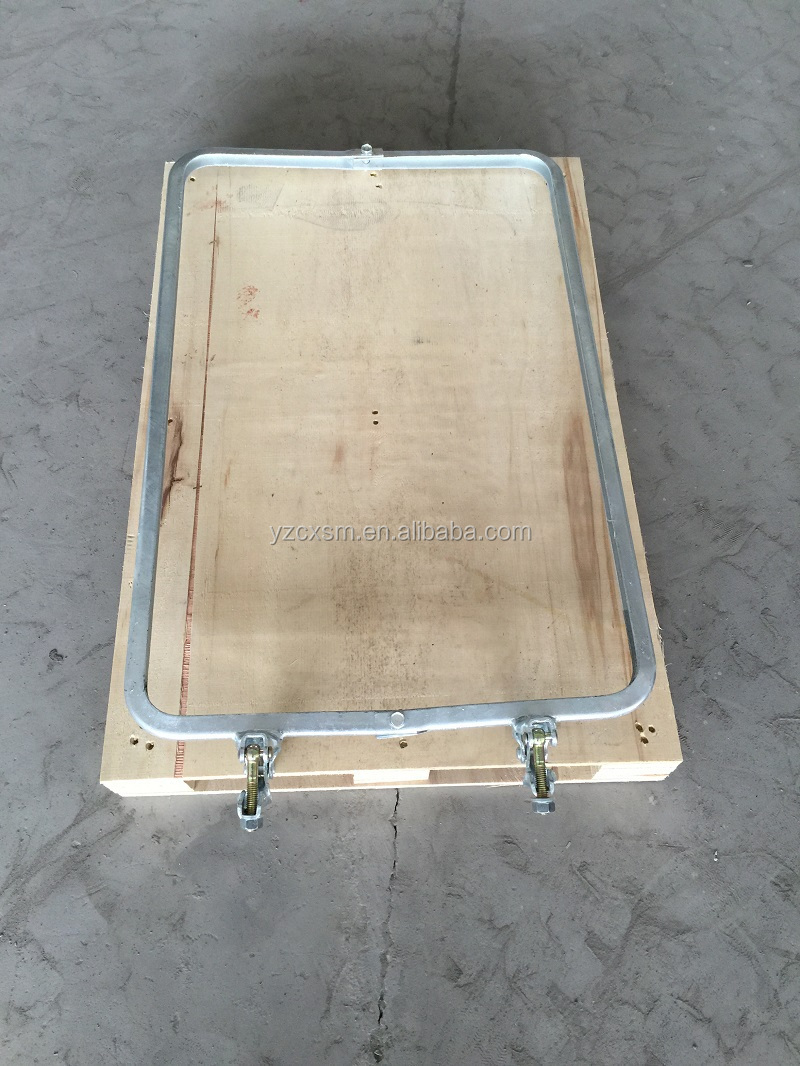 "30"" x 20"" Safety Sign Board Frame for scaffolding"