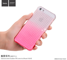 HOCO Diamond Series Shiny Soft TPU Cover for iPhone SE 5 5s Fashion Gradient Back Case MT-5642