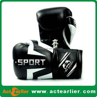 cheap custom made personalized design your own PU boxing gloves