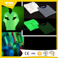 Glow In the Dark Cotton Fabric For Safety And Decoration