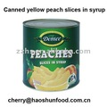 Canned Yellow/white Peaches in Syrup