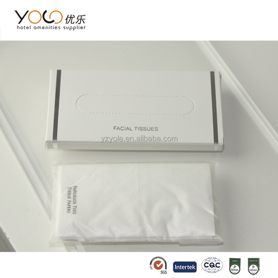 advertising travel pack small facial tissue paper