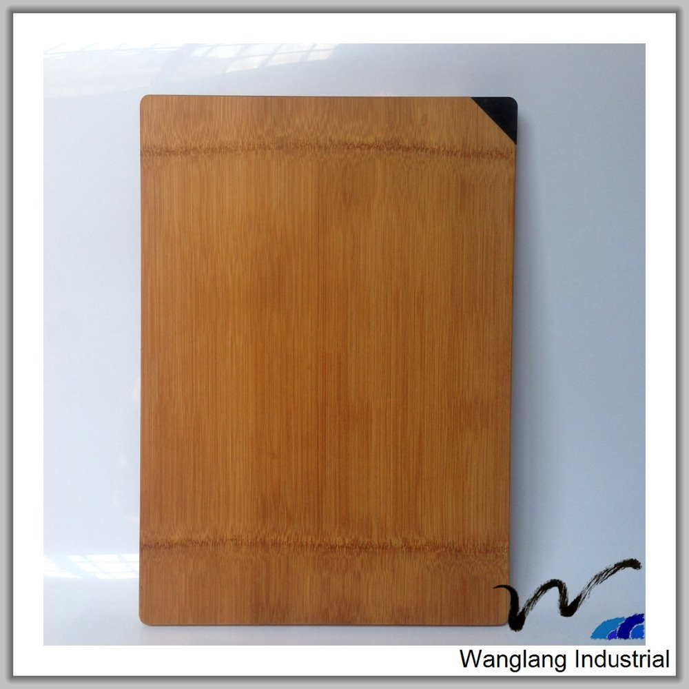 Kitchen scale bamboo cutting board with knife block