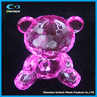 high transparent OEM acrylic crafts birthday present for kids