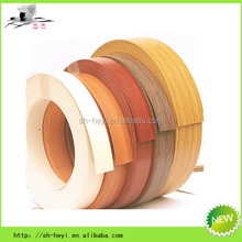 wood and solid color furniture edge trim strip