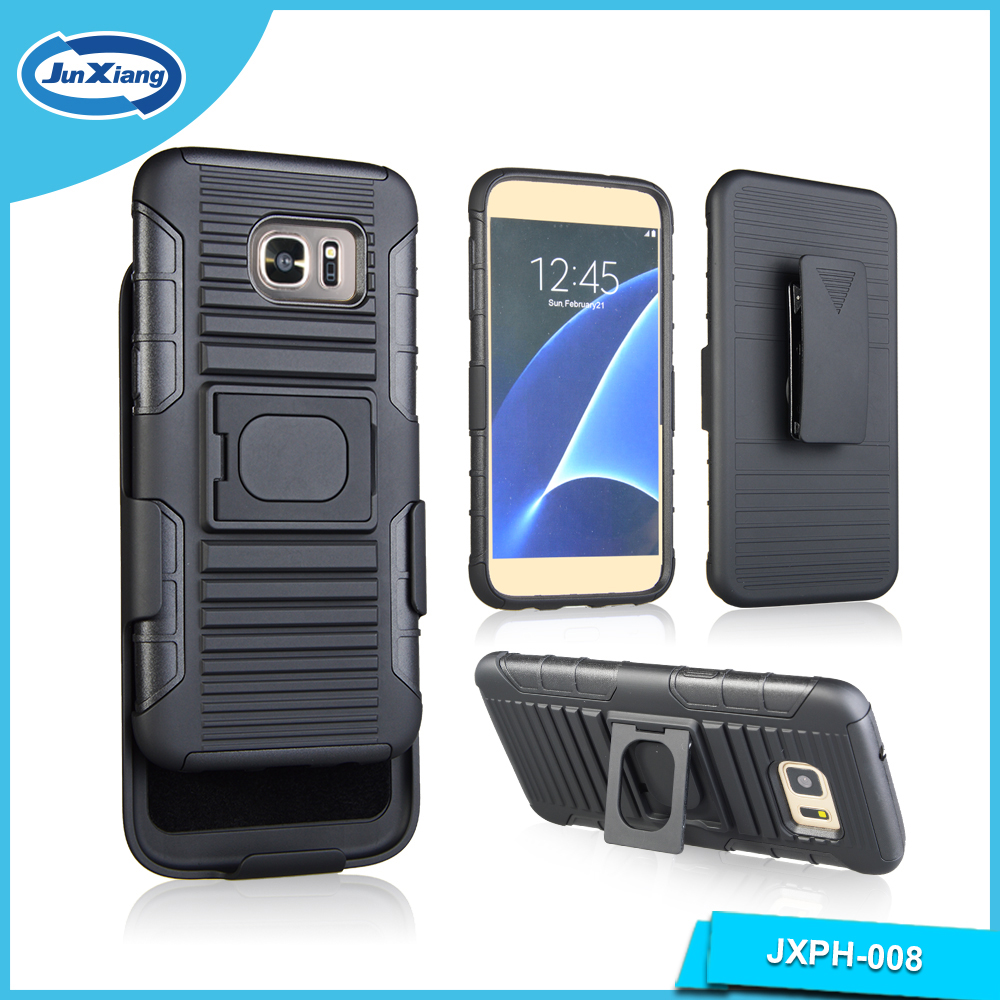 New Combo Phone Case for S7 Edge, Kickstand Robot Case for S7 Edge
