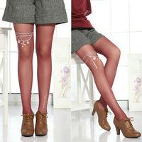 Ladies Super Stylish Printing Tattoo Pattern Pantyhose/tights/leggings/hosiery