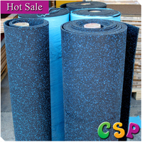 Cheap Best quality sports flooring rubber roll seamless rubber flooring