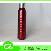 unbreakable stainless steel mini school cola shape flask