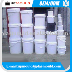 good quality plastic paint bucket mould/mold