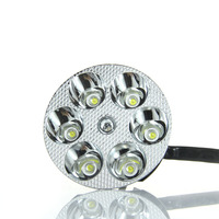 Universal Motorcycle Headlight Driving Lamp Off Road Headlight 18W White